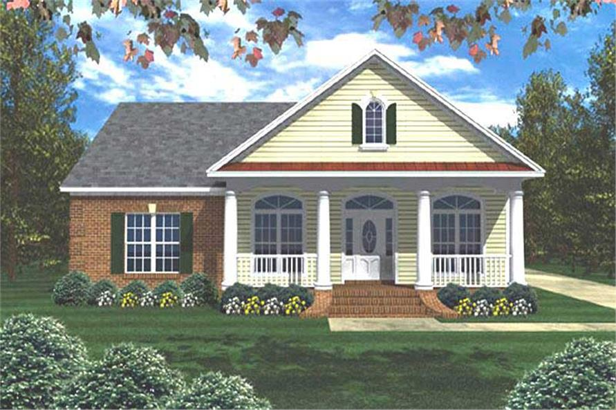 Main image for house plan # 7844