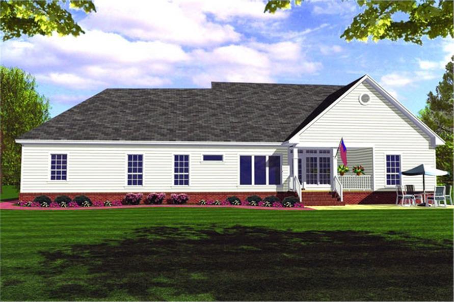 141-1161 house plan rear