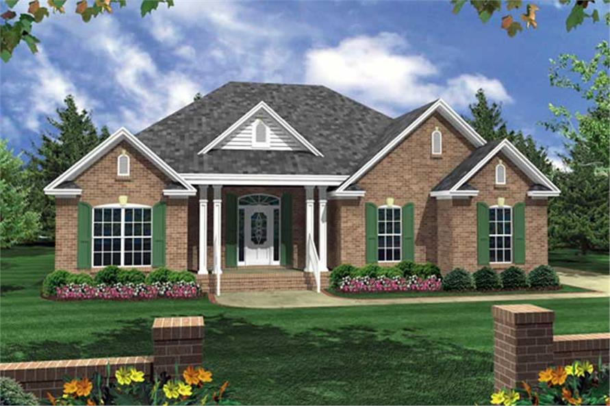 Main image for house plan # 15504