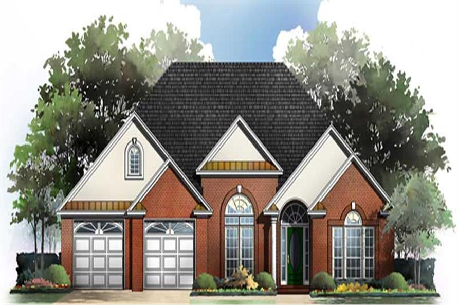 Main image for house plan # 15515