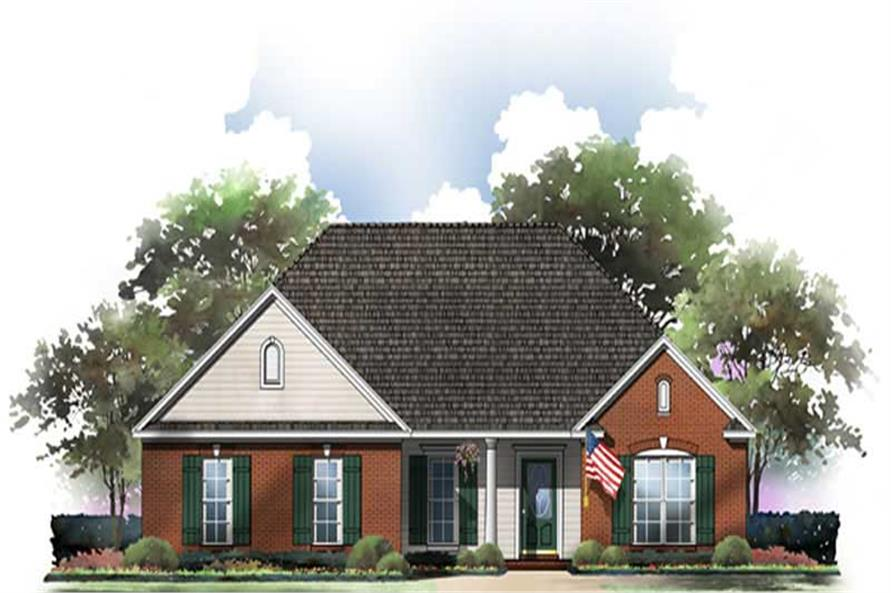 Main image for house plan # 9306