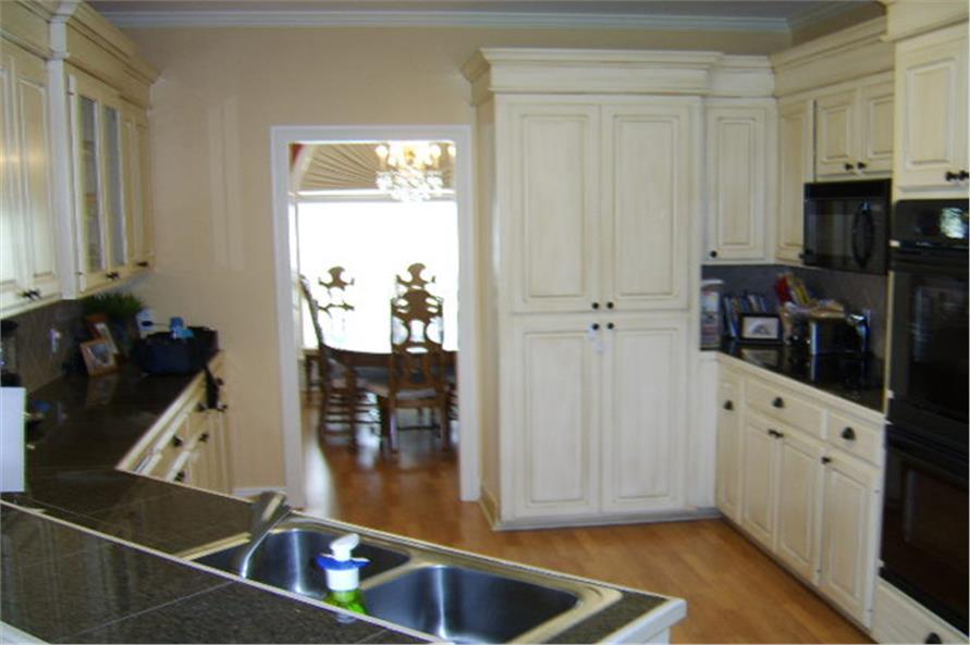 141-1196 house plan kitchen