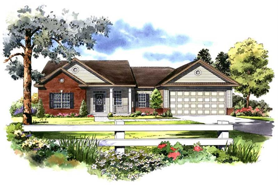 Main image for house plan # 9302