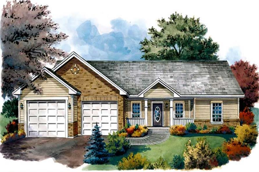 Main image for house plan # 9295