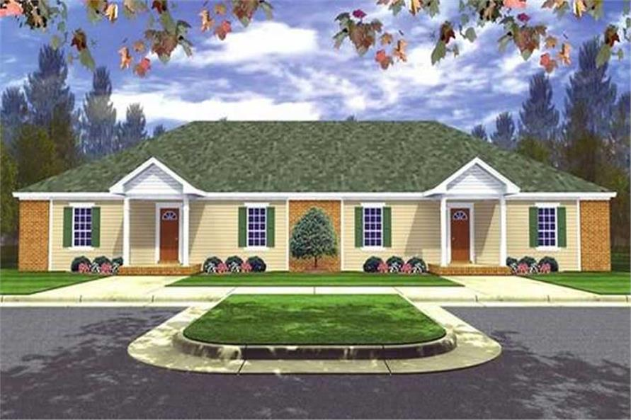 Main image for house plan # 7859
