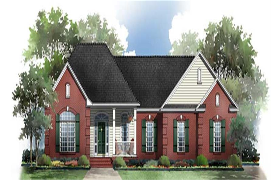Main image for house plan # 15512