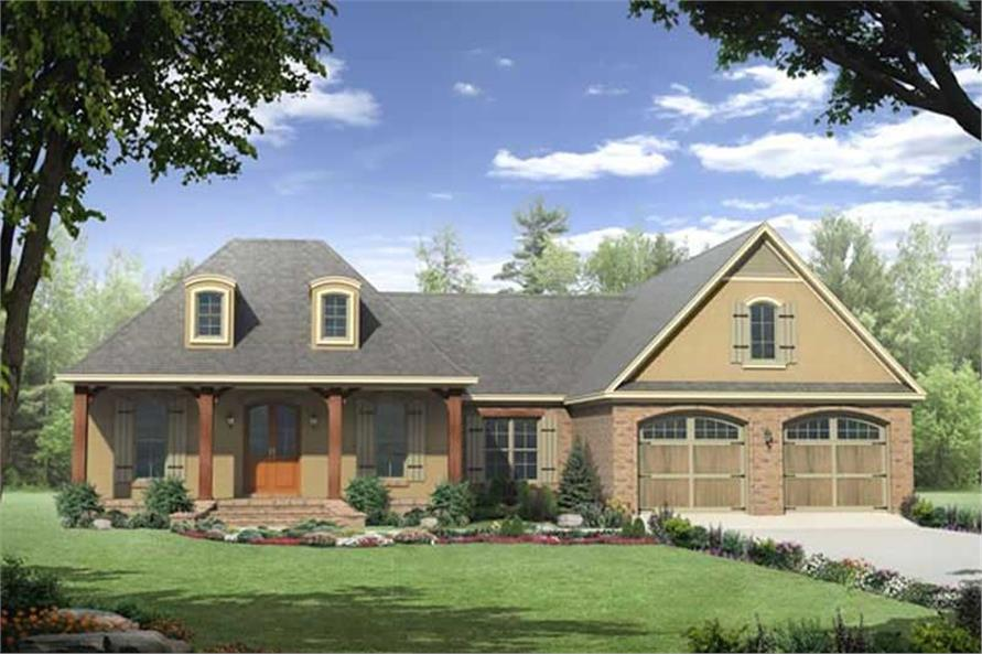 Main image for house plan # 16933
