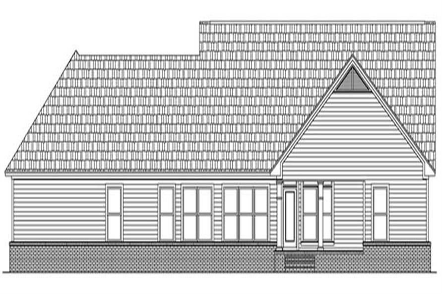 House Plan #141-1217