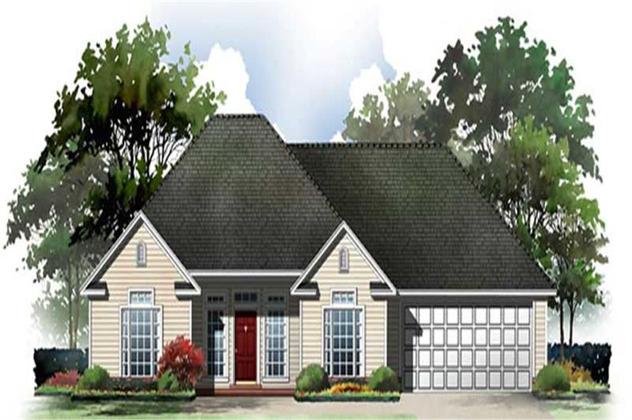Main image for house plan # 15502