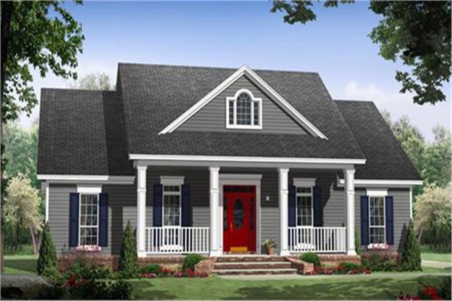 141-1243: Home Plan Rendering