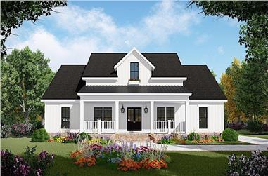 3-Bedroom, 1832 Sq Ft Farmhouse Home - Plan #141-1319 - Main Exterior
