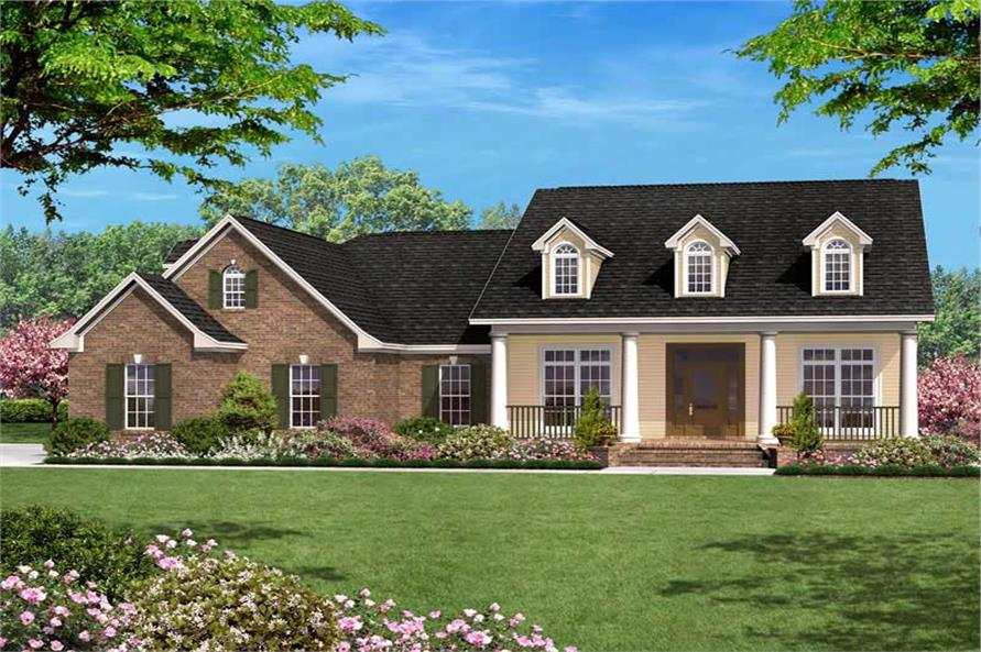 Main image for house plan # 20618