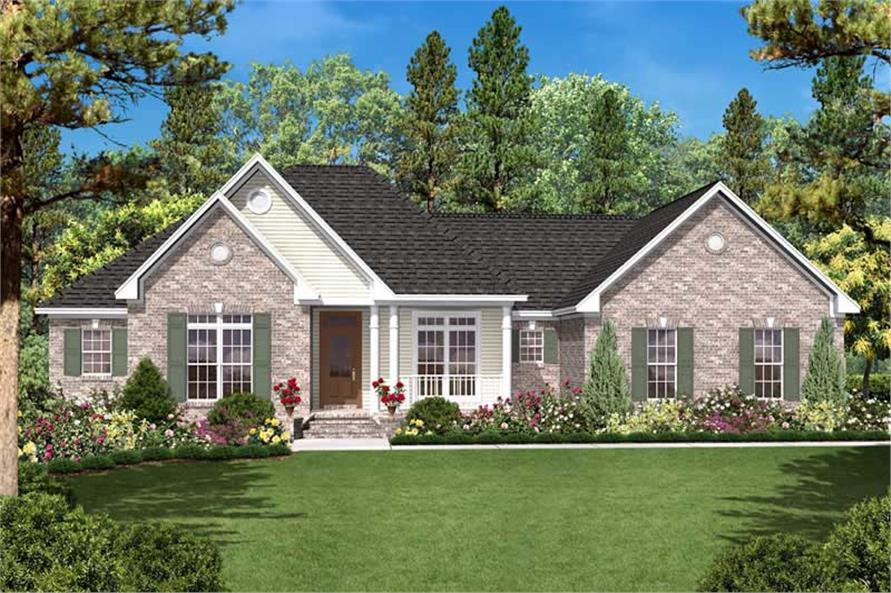 Main image for house plan # 20623