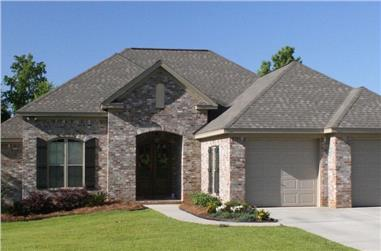3-Bedroom, 1600 Sq Ft Country Home Plan - 142-1049 - Main Exterior