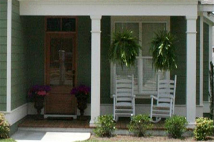 Porch of this 3-Bedroom,1550 Sq Ft Plan -1550