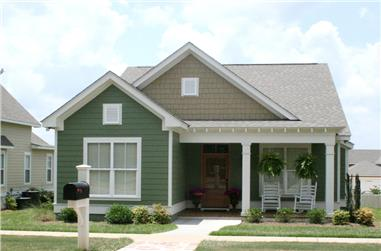 3-Bedroom, 1550 Sq Ft Cottage Home Plan - 142-1060 - Main Exterior