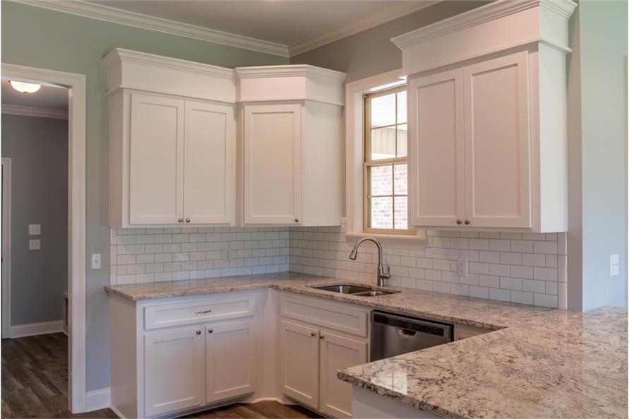 142-1069: Home Interior Photograph-Kitchen