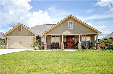 3-Bedroom, 1834 Sq Ft Ranch House - Plan #142-1082 - Front Exterior