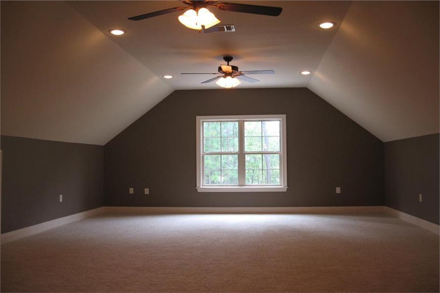 142-1103: Home Plan Other Image-Playroom / Bonus Room