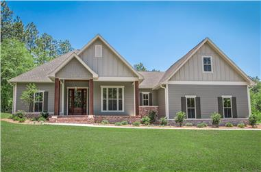 3-Bedroom, 2086 Sq Ft Country House Plan - 142-1191 - Front Exterior