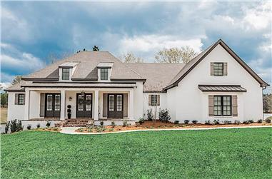 3-Bedroom, 2854 Sq Ft French House - Plan #142-1209 - Front Exterior