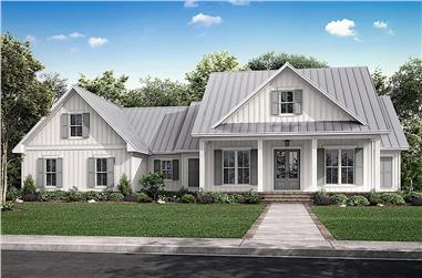 3-Bedroom, 2428 Sq Ft Farmhouse Home - Plan #142-1232 - Front Exterior
