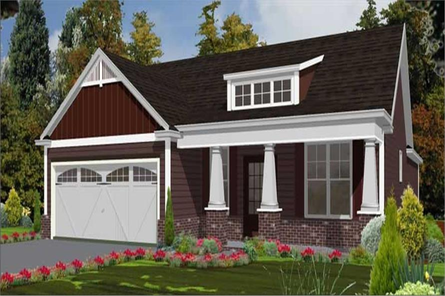 Main image for house plan # 17807