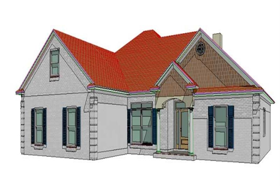 Main image for house plan # 17769