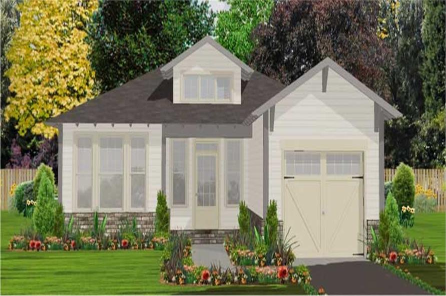 Main image for house plan # 17820