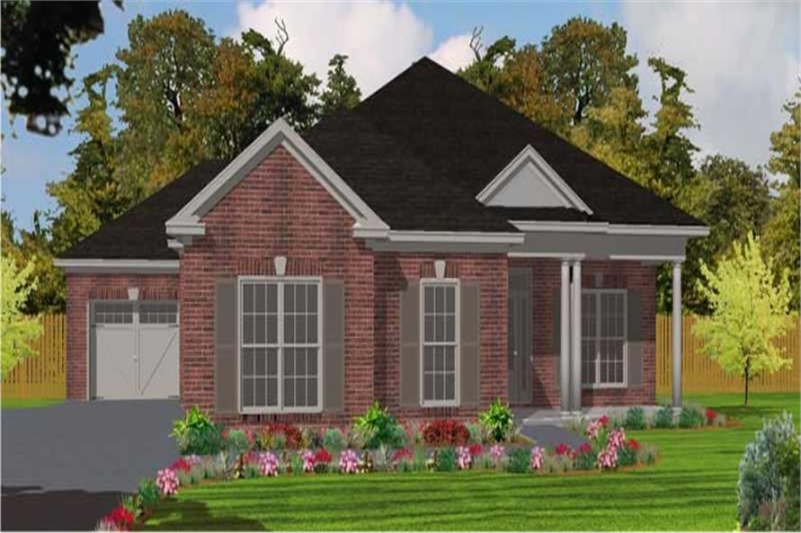 Main image for house plan # 17811
