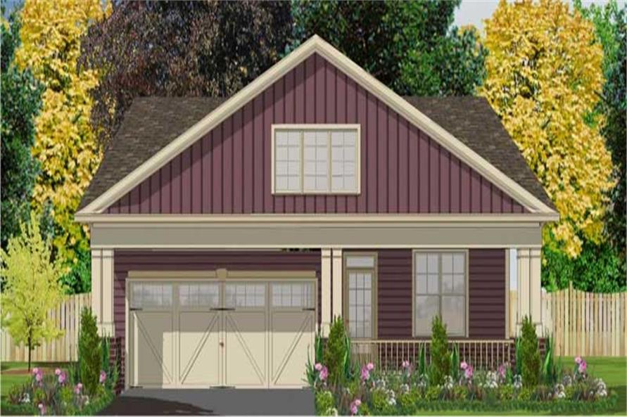 Main image for house plan # 17809