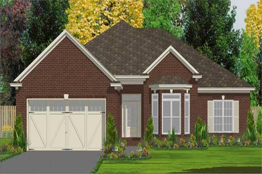 Main image for house plan # 17832