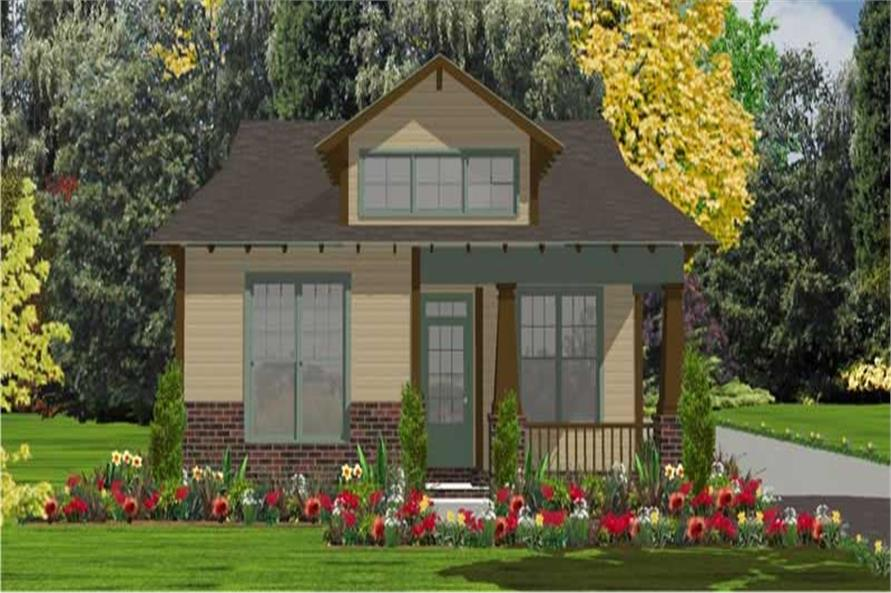 Main image for house plan # 17816
