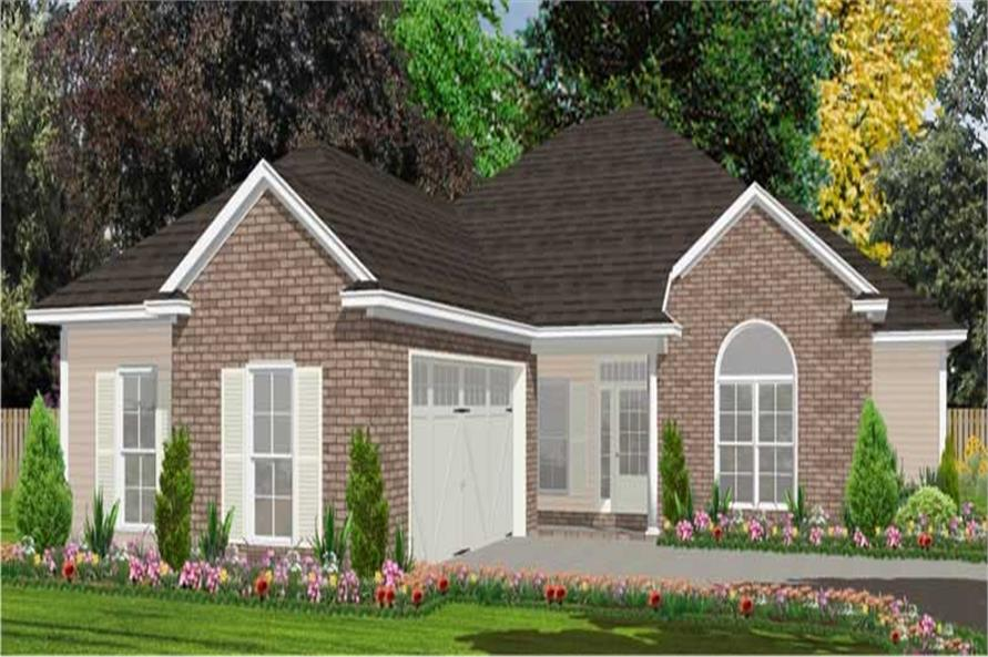 Main image for house plan # 17843