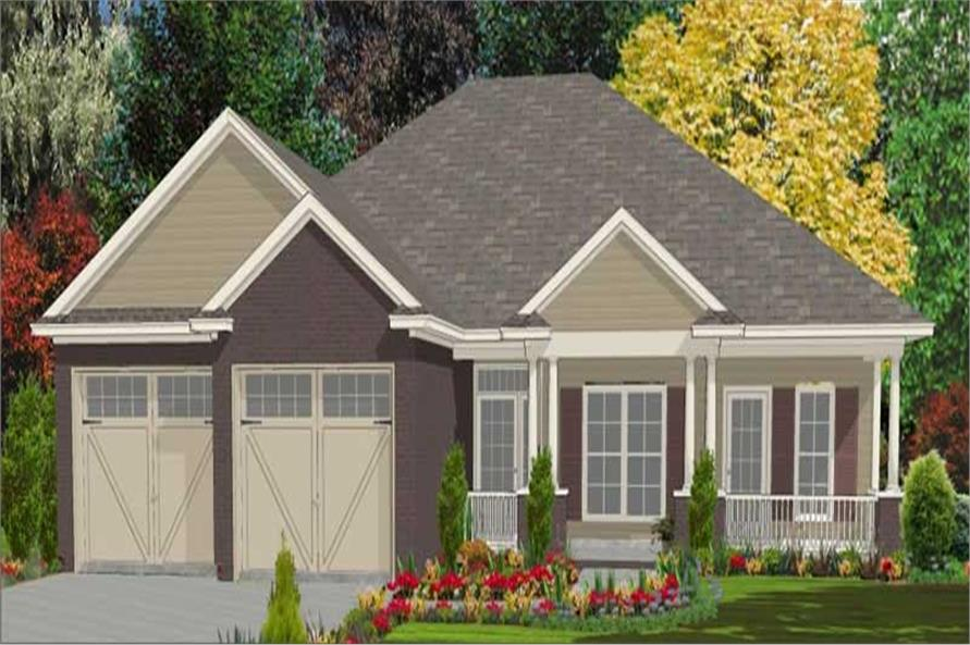 Main image for house plan # 17838