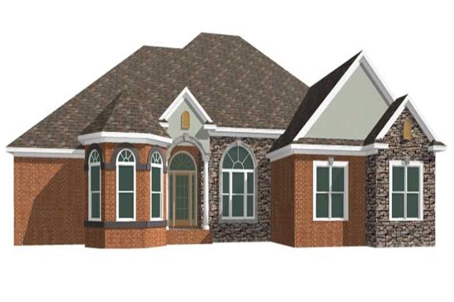 Main image for house plan # 17774