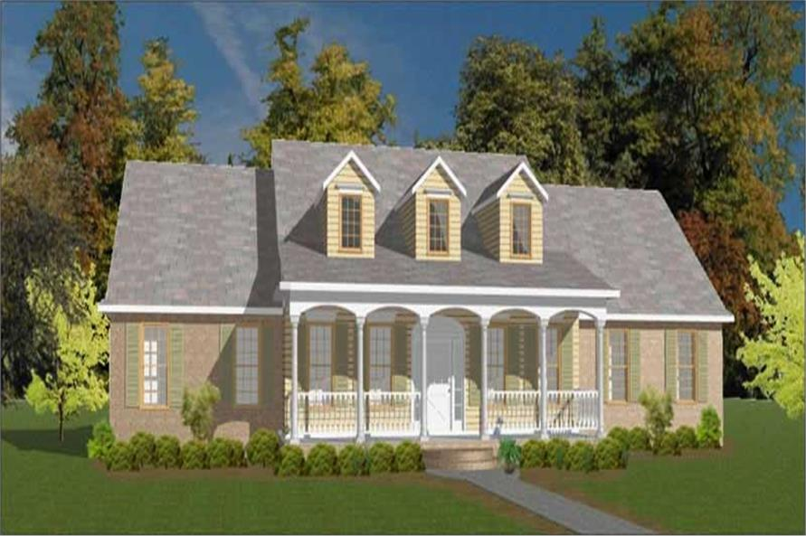 Main image for house plan # 11309