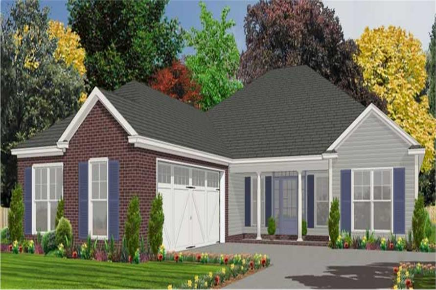 Main image for house plan # 17841