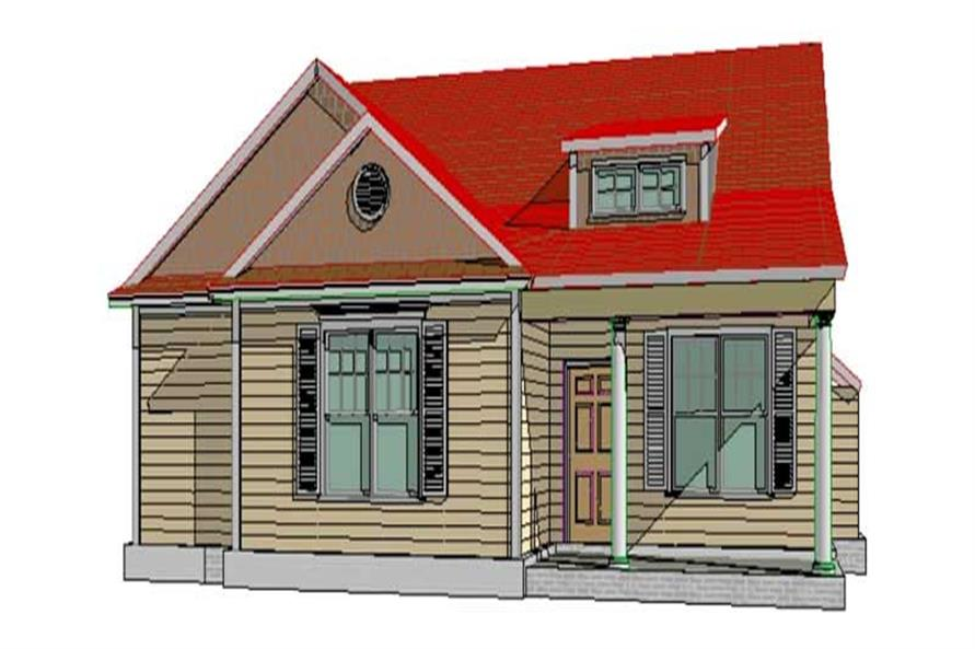 Main image for house plan # 17758