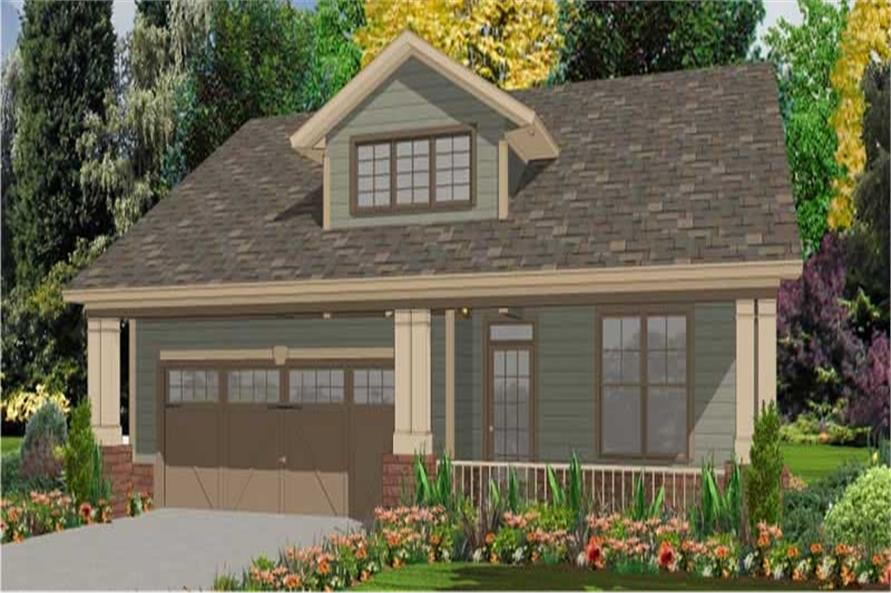 Main image for house plan # 17761