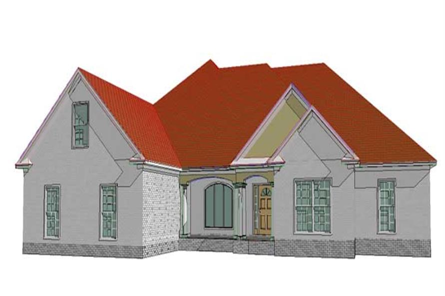Main image for house plan # 17767