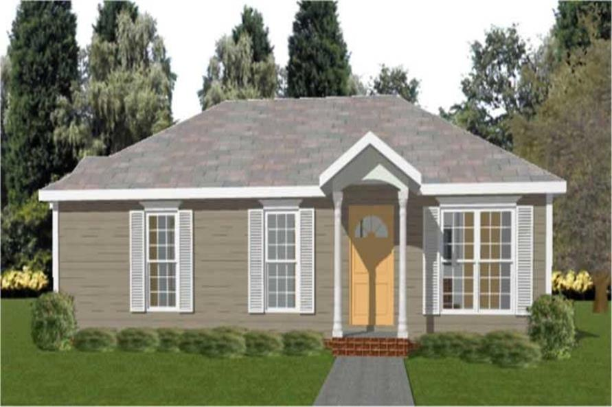 Main image for house plan # 11305