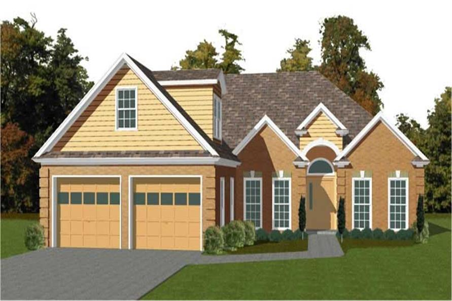 Main image for house plan # 11306