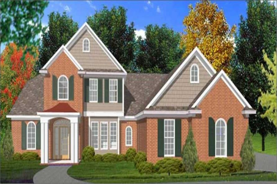 Main image for house plan # 11307