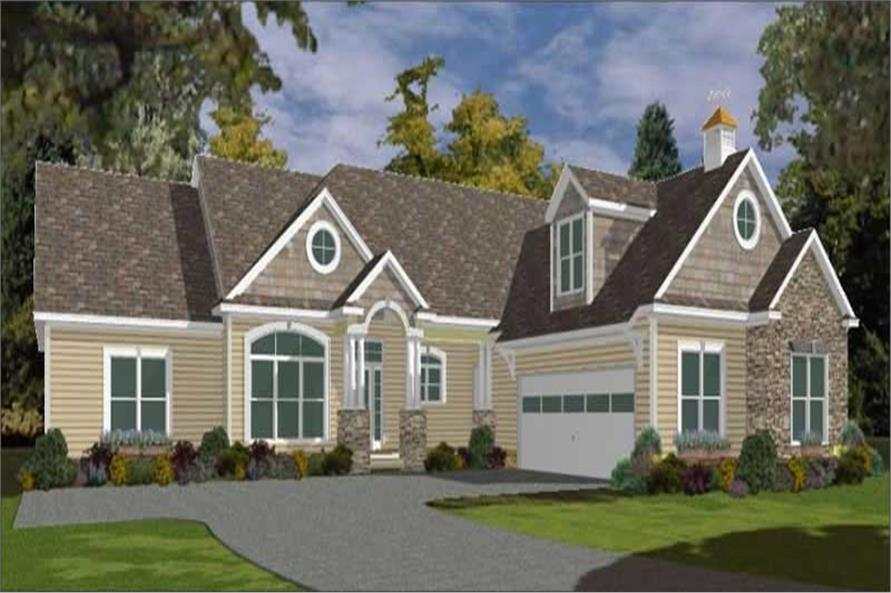 Main image for house plan # 11321