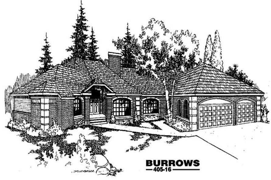 Main image for house plan # 6357