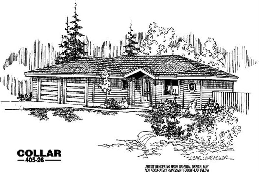 Main image for house plan # 6363