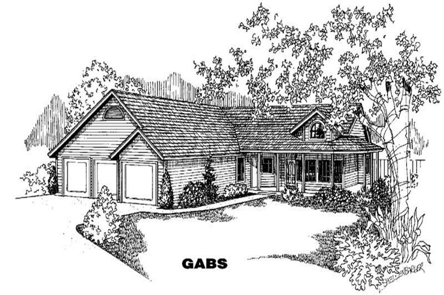 Main image for house plan # 6359