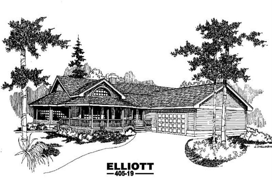Main image for house plan # 6358