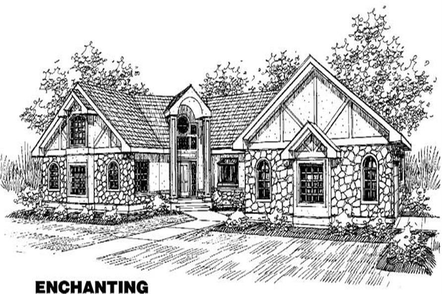 Main image for house plan # 3600